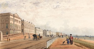 Brighton in the early 19th century: where Barbara Wilberforce gave birth to Henry in 1807 and Marianne Sykes Thornton died in 1815.